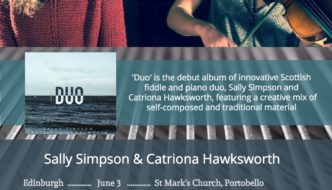 Sally Simpson & Catriona Hawksworth on tour in Scotland/England