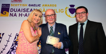 Lifetime Achievement award for Dr Finlay Macleod at Scottish Gaelic Awards