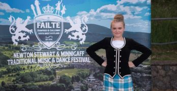 Dumfries & Galloway dancers prepare to compete at Minnigaff this weekend – 5th annual traditional music and dance festival set to welcome Highland dancers from all over the UK.