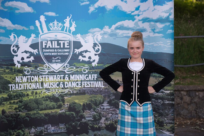Dumfries & Galloway dancers prepare to compete at Minnigaff