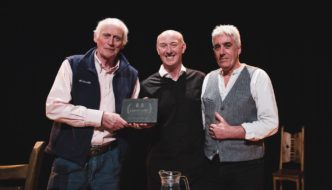 Archie Fisher Landmark Presentation at Tradfest 2017