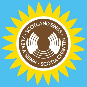 Scotland Sings Sunflower Logo