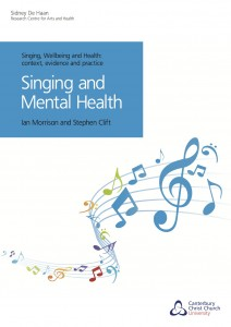 Singing and Mental Health Front Cover