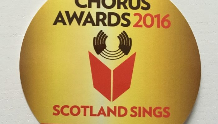 Chorus Awards 2016 – Nominations Now Closed!