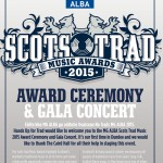 MG ALBA Scots Trad Music Awards 2015 programme