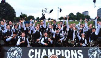 MG ALBA Scots Trad Music Awards 2016: North Lanarkshire Schools Pipe Band