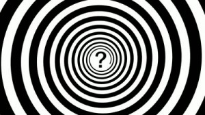 stock-footage--x-fullhd-video-hypnotic-turning-spiral-and-a-question-mark-in-the-center