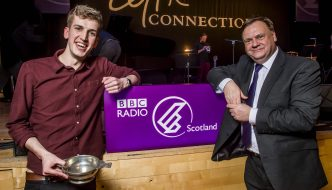 CHARLIE STEWART wins BBC Radio Scotland Young Traditional Musician 2017