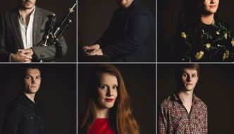 The finalists of the 2018 BBC Radio Scotland Young Traditional Musician Award